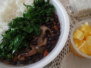 culinária vegana Uberaba feijoada vegana (Foto: Leila Maria/ Arquivo Pessoal)