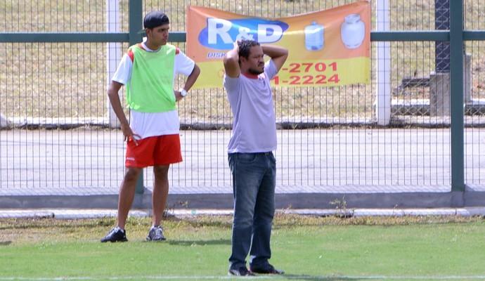 União x São José EC - Paulista 2ª Divisão - Paulo Mulle (Foto: Milena Antunes)