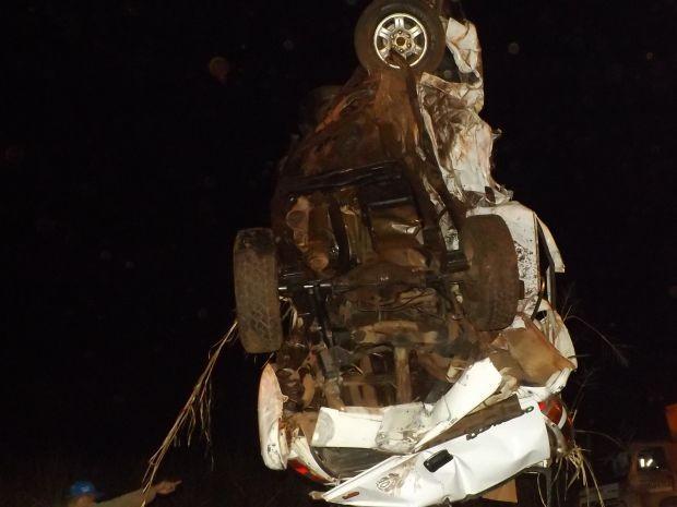 Motorista tentou fazer ultrapassagem proibida (Foto: Renato Silva Gomes / arquivo pessoal)