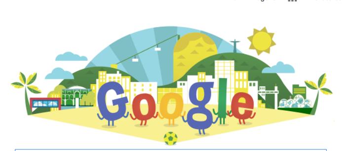 Doodle da Copa do Mundo 2014  (Foto: Reprodução/Google)