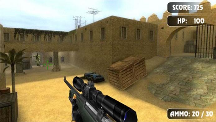 Death Trigger aposta no Counter-Strike à longa distância (Foto: Divulgação/Stephen Green)