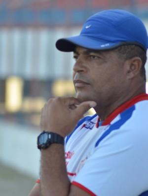 Laelson Lopes diminui importância do resultado (Foto: Thiago Barbosa/GLOBOESPORTE.COM)