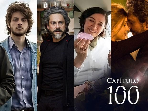 TOP 5 dos 100 capítulos de Império (Foto: Gshow)