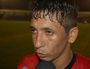 Wanderley, atacante do Campinense (Foto: Silas Batista / GloboEsporte.com)
