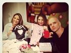 Ticiane Pinheiro posta foto do enxoval de Brenda, filha de Sheila Mello