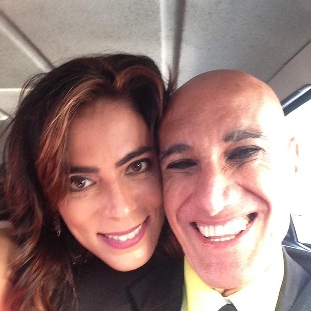 Heloisa Faissol com Amin Khader (Foto: Reprodução/Instagram)