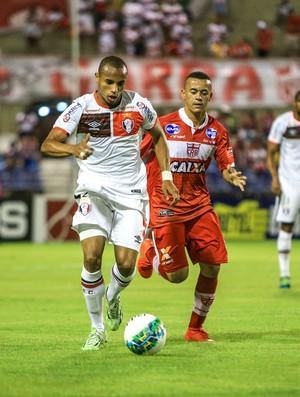 CRB x Joinville, no Rei Pelé (Foto: Ailton Cruz/Gazeta de Alagoas)