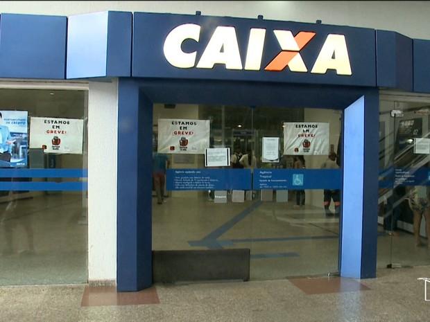 Agências da Caixa Econômica no Maranhão voltam a funcinoar na segunda (10) (Foto: Reprodução/TV Mirante)