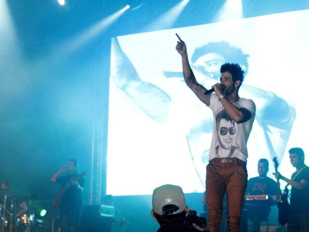 Show do Gusttavo Lima em Manaus (Foto: Rômulo de Sousa/G1 AM)