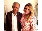 Preta Gil fala da recuperação do pai, Gilberto Gil: 'Internação virou rotina'