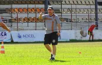 Gian Rodrigues segue preparação com atletas do Social para o Módulo II