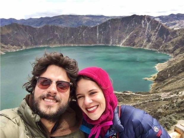 Casal passou por vários países da América do Sul durante viagem de quase um ano  (Foto: Reprodução/Facebook)