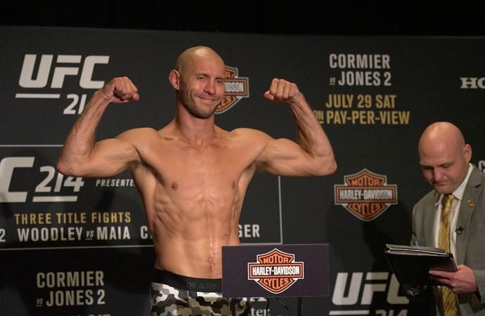 Donald Cerrone pesagem UFC 214 (Foto: Evelyn Rodrigues)