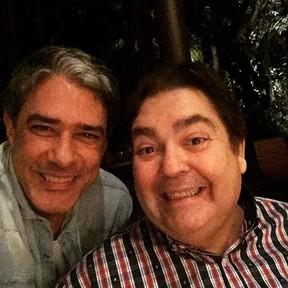 William Bonner e Fausto Silva (Foto: Instagram/ Reprodução)