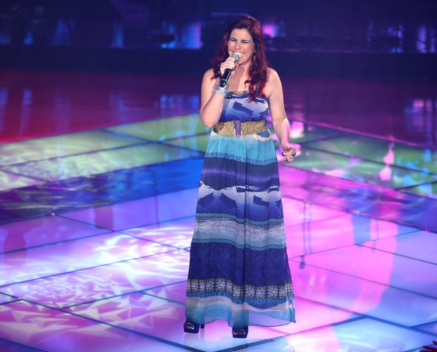 Patricia show (Foto: The Voice Brasil / Tv Globo)