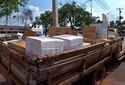 Três são presos por furto de carga de agrotóxico avaliada em R$ 120 mil
