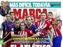 Imprensa espanhola destaca bravura do Atlético contra o Barcelona