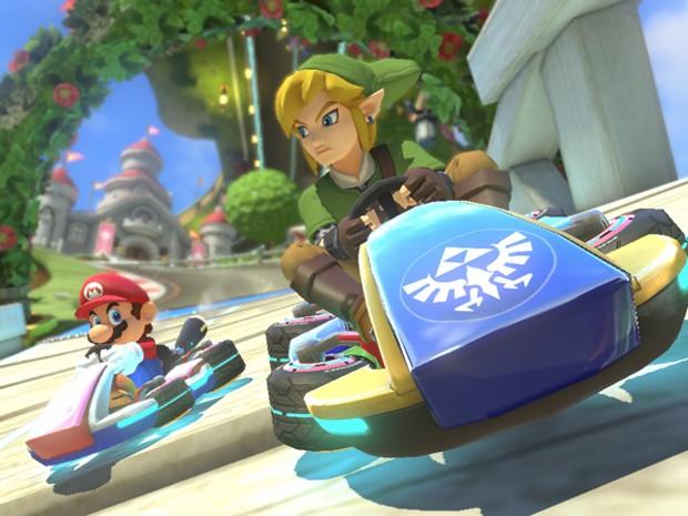 Link, de 'The Legend of Zelda', será novo corredor de 'Mario Kart 8' (Foto: Divulgação/Nintendo)