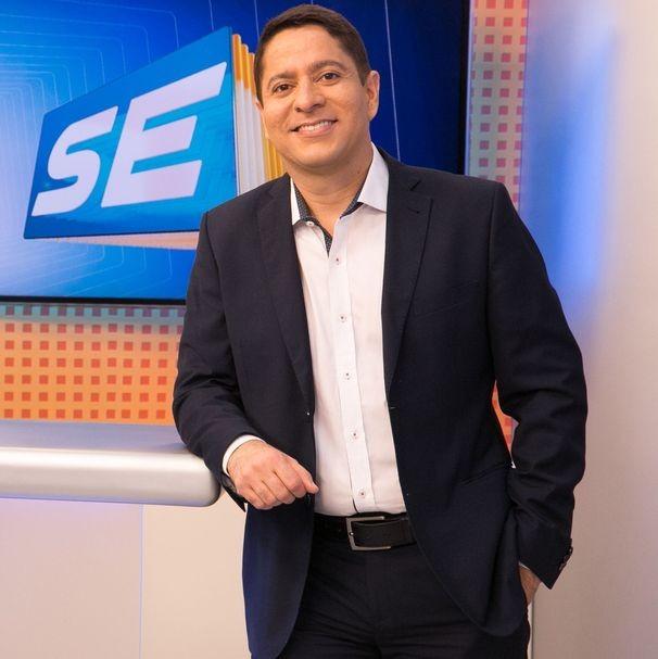 Ricardo Marques apresenta o SETV 1ª Edição (Foto: Divulgação / TV Sergipe)