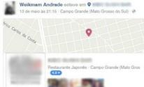 Suspeito de matar a avó tentou criar álibi ao ir para restaurante (Reprodução/Facebook)