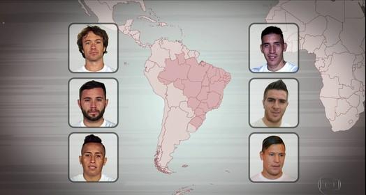 são paulo  futebol gringo