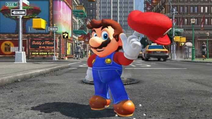 Super Mario Odyssey: nova aventura do mascote chega no fim de 2017 ao Nintendo Switch (Foto: Divulgação/Nintendo)