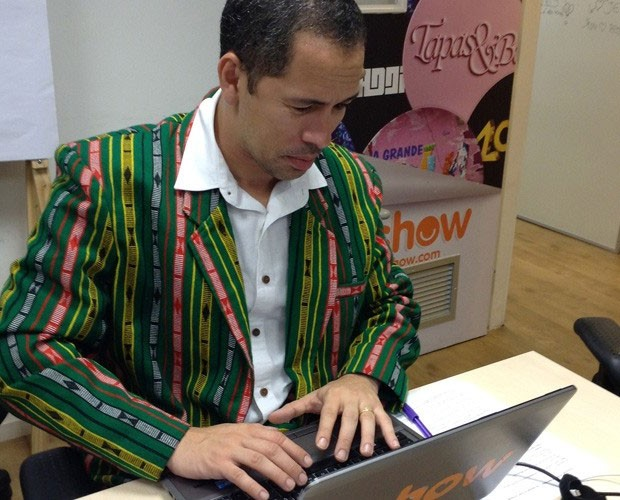 Major, no chat de Tome Prumo (Foto: (Daniel Simões / Gshow))