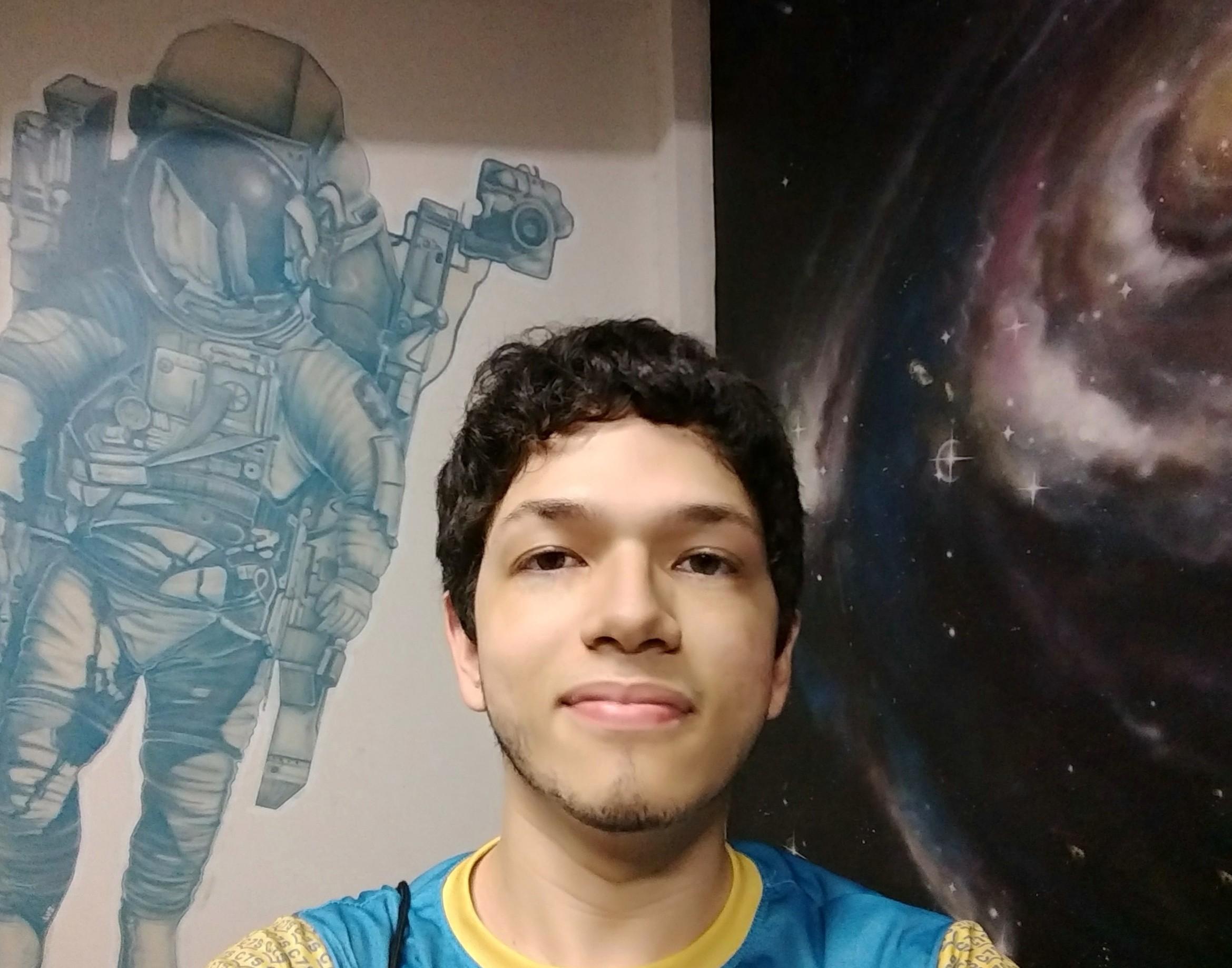 Pedro Pompeu de Sousa Brasil Carneiro - tem 17 anos, é de Fortaleza (CE) e cursa o 3º ano do ensino médio no colégio 7 de Setembro (Foto: divulgação)