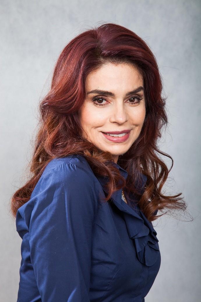 Será que Françoise vai arrasar no palco do Domingão? (Foto: TV Globo)
