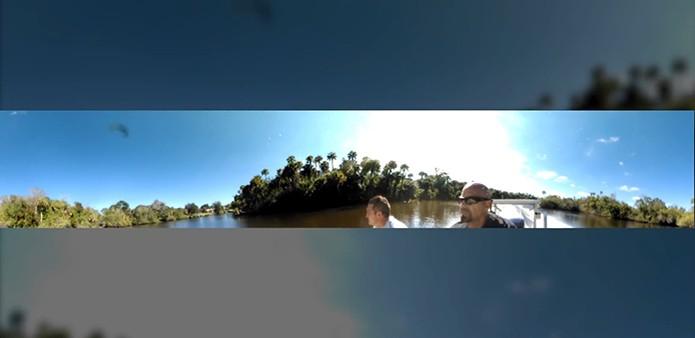 Câmera V.360 é resistente à água para uso em esportes radicais (Foto: Divulgação/VSN Mobil)