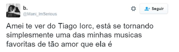 amor tiago iorc (Foto: reprodução)