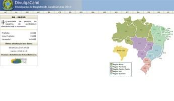 Divulga Candidatos 2012 TSE (Foto: TSE/divulgação)