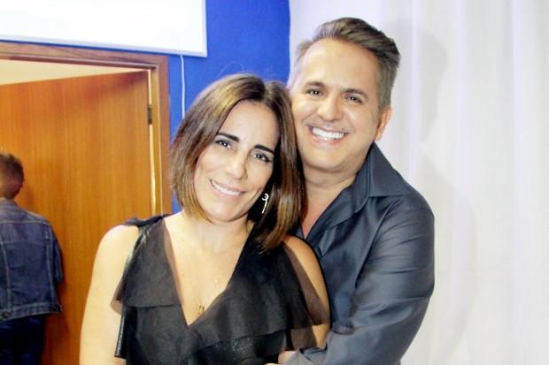 Glória Pires e Orlando Morais (Foto: Marcos Ferreira/ Ego )