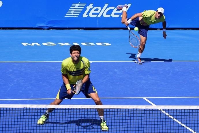 Marcelo Melo e Ivan Dodig no ATP de Acapulco (Foto: Adrian Macias / Mexsport)