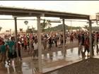 Trabalhadores fazem protesto e denúncias em Belo Monte