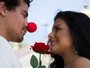 Thiago Martins grava clipe romântico com a namorada, Paloma Bernardi