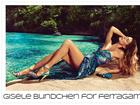 Gisele Bündchen posa com pernas à mostra na Jamaica