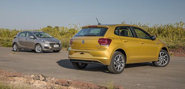 Comparativo: Volkswagen Polo x Fiat Argo x Hyundai HB20 (Foto: Marcos Camargo/Autoesporte)