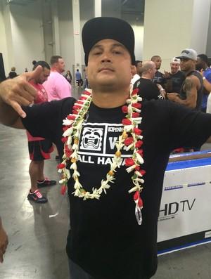 BJ Penn UFC 189 UFC Fan Expo (Foto: Marcelo Russio)