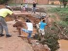 Chuva causa estragos em Valadares e Conselheiro Pena, no Leste de MG