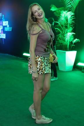 Luana Piovani em festa no Centro do Rio (Foto: Roberto Filho/ Brazil News)