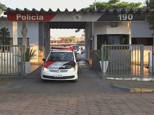 Batalhão da Polícia Militar afirma que abrirá investigação sobre ameaça (Foto: Reprodução/ TV TEM)