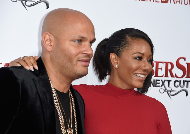 Mel B e o ex, Stephen Belafonte (Foto: Getty Images)