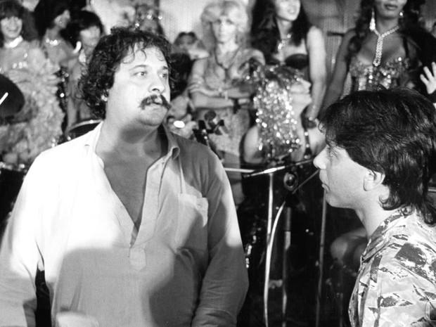 O diretor Roberto Talma trabalha na novela Um Sonho a Mais em 1985 (Foto: CEDOC / TVGLOBO)
