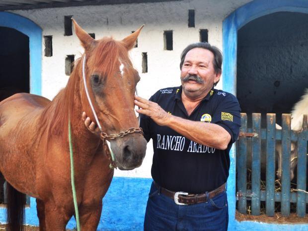 Bagdá demonstra grande carinho pelo seu campeão Irion McCoy (Foto: Marcos Costa / Arquivo Pessoal)