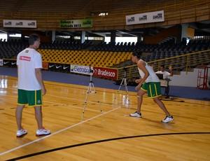 Seleção feminina passa por preparação física em São Carlos (Foto: Nikolas Capp)