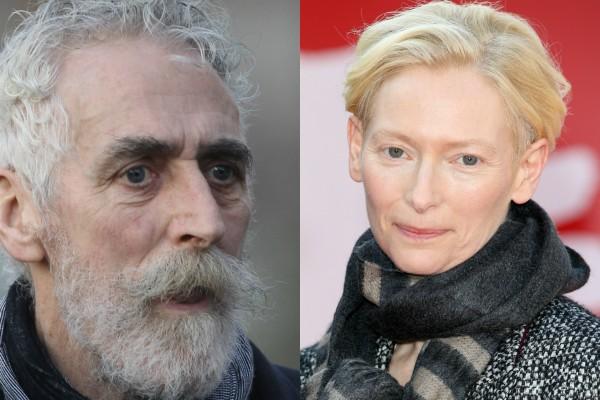 John Byrne e Tilda Swinton (Foto: Getty Images)