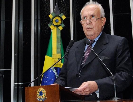 Deputado Jarbas Vasconcelos (Foto: Waldemir Barreto/Agência Senado)