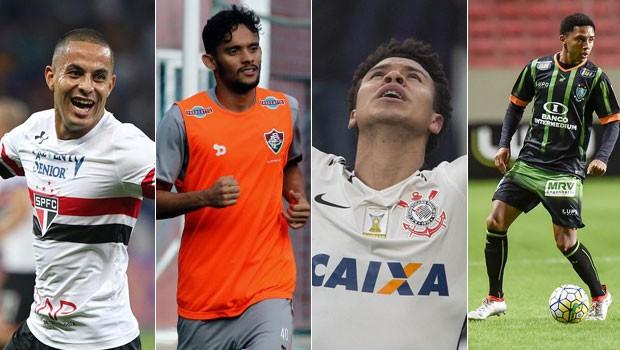 Rede Globo > esportes - Futebol tem São Paulo x Fluminense e América-MG x Corinthians, quarta
