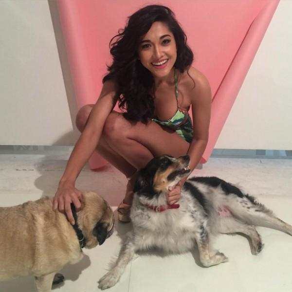 Jacqueline Sato deixa claro seu amor aos animais nas redes sociais (Foto: Reprodução / Instagram)